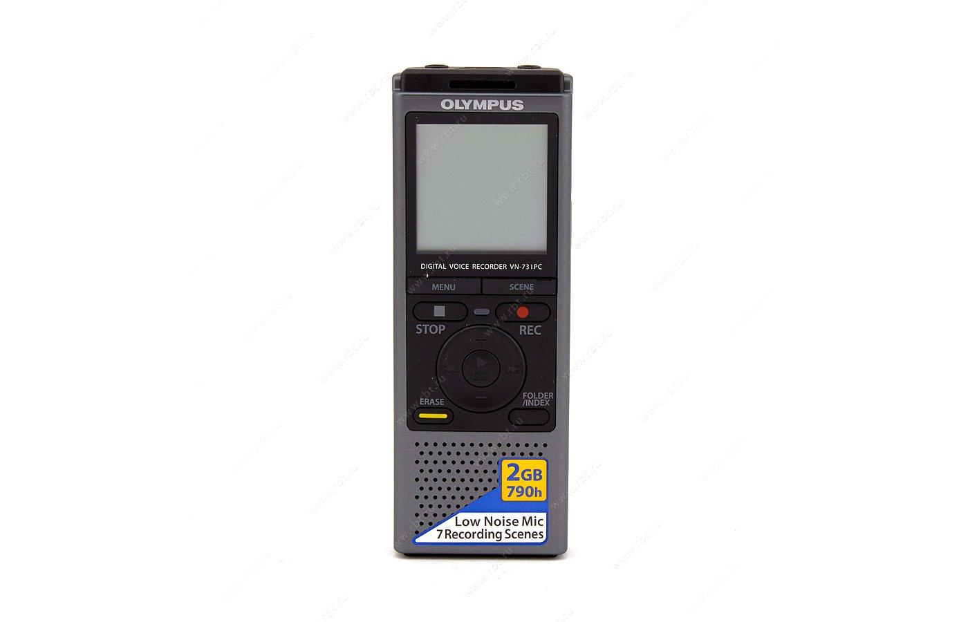 Диктофон OLYMPUS VN-731PC 2Гб