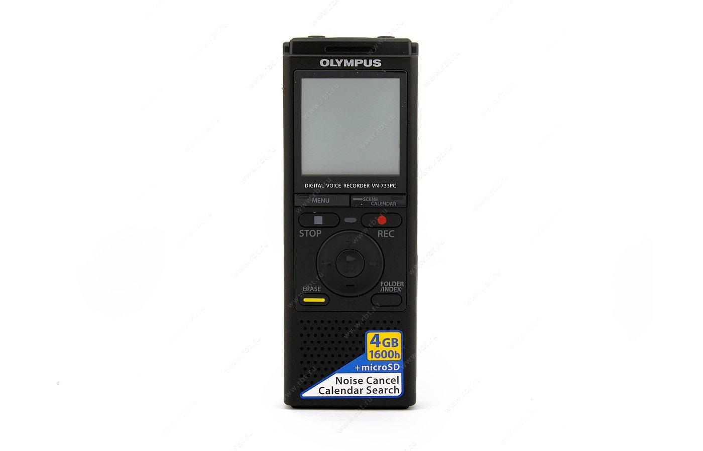 Диктофон OLYMPUS VN-733PC 4Гб black