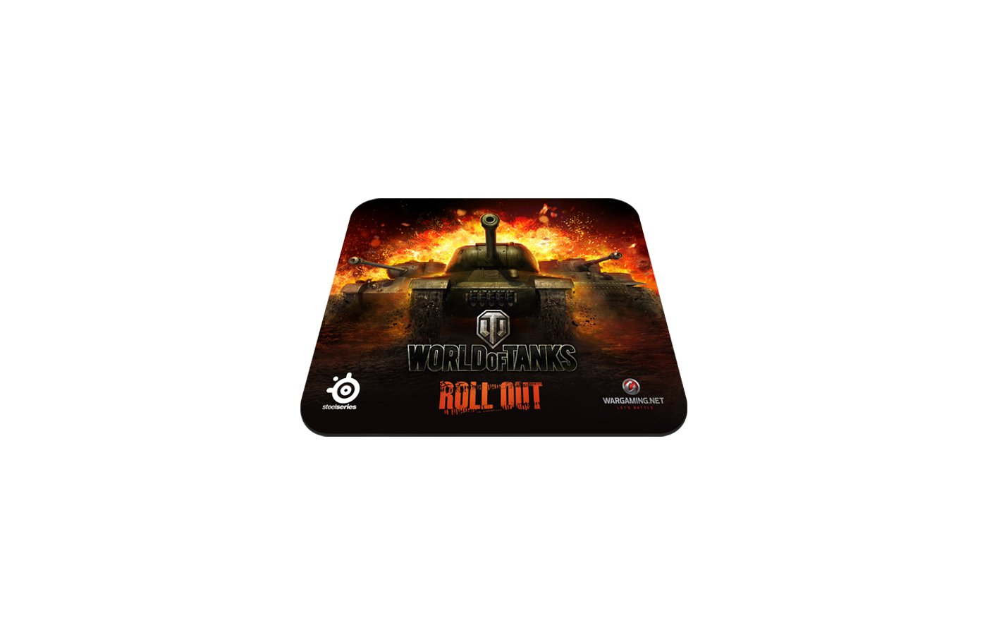Коврик для мыши Steelseries SS QcK World of Tanks edition (67269)