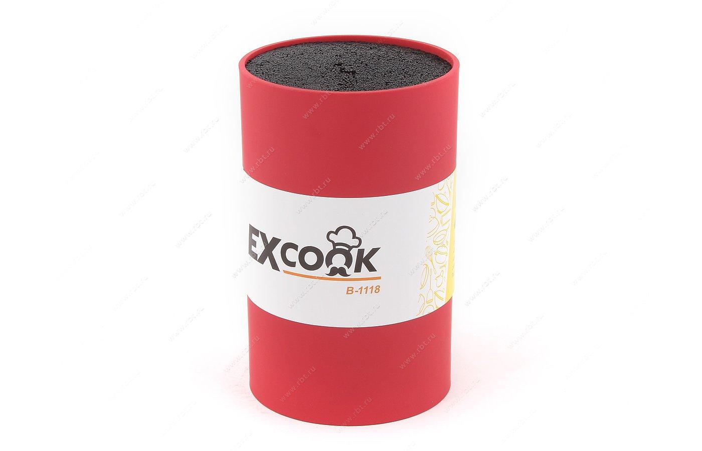 Набор ножей EXCOOK B-1118 Red Подставка для ножей