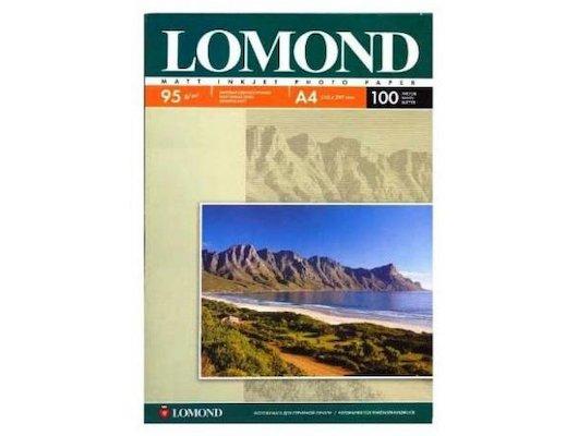 Фотобумага Lomond 0102129 A3/95г/м2/100л. матовая 720/1440dpi