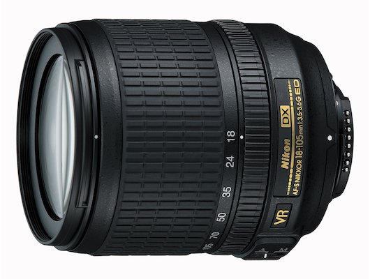 Объектив Nikon 18-105mm f/3.5-5.6G AF-S ED DX VR Nikkor (JAA805DB)
