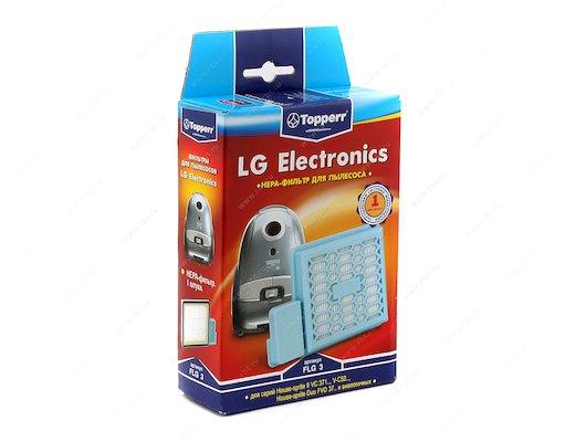 Фильтр для пылесоса TOPPERR 1118 FLG 3 TOPPERR HEPA-фильтр для пылесосв LG: House-sprite II VC371.. V-C 52.. House-sp