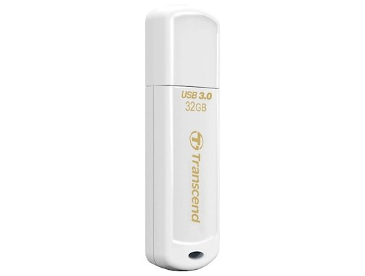 Флеш-диск Transcend 32Gb Jetflash 730 TS32GJF730 USB3.0 белый