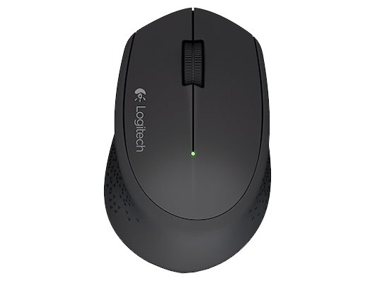 Мышь беспроводная Logitech Wireless Mouse M280 Black USB