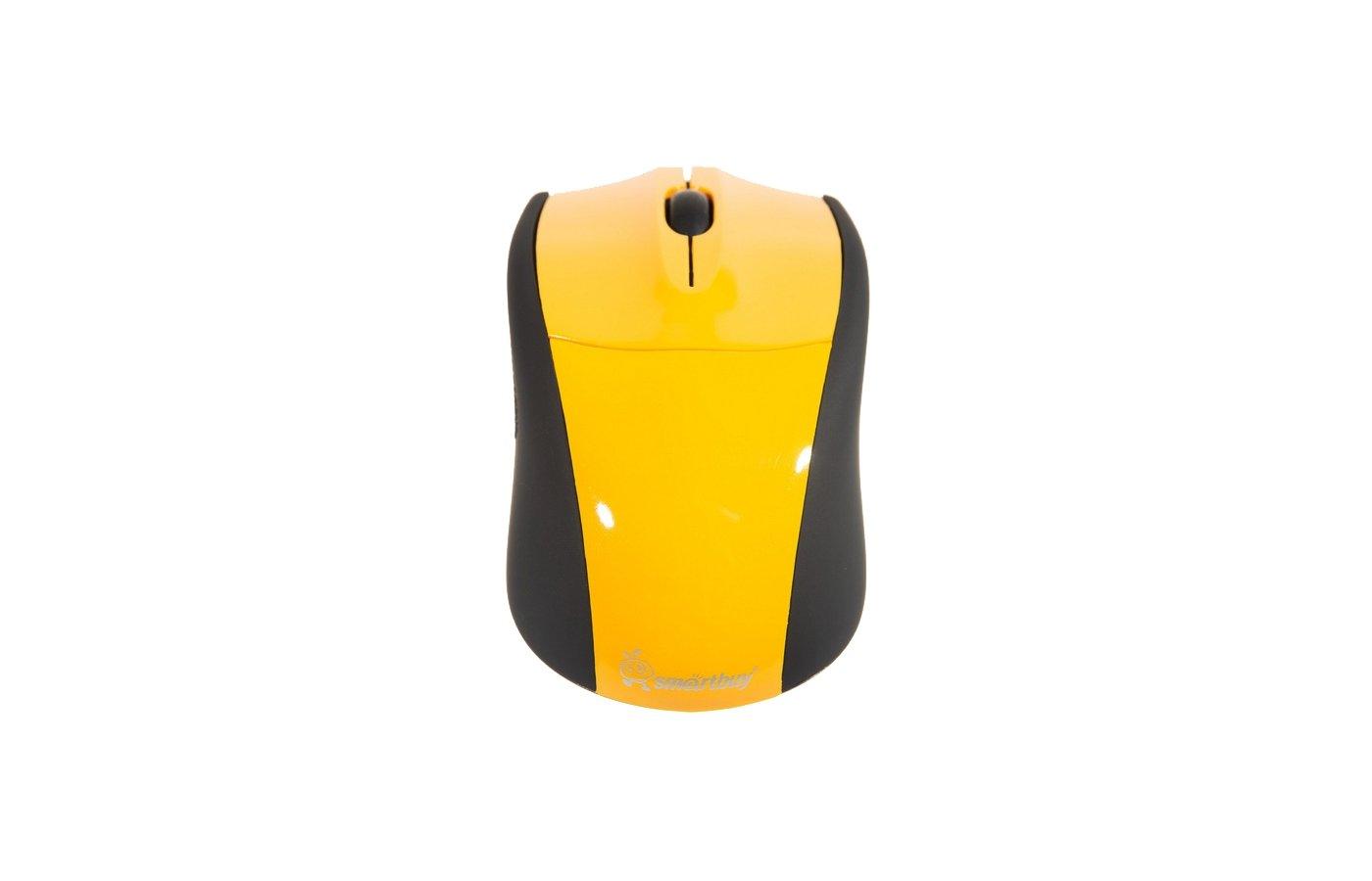 Мышь проводная Smartbuy 325 USB Yellow