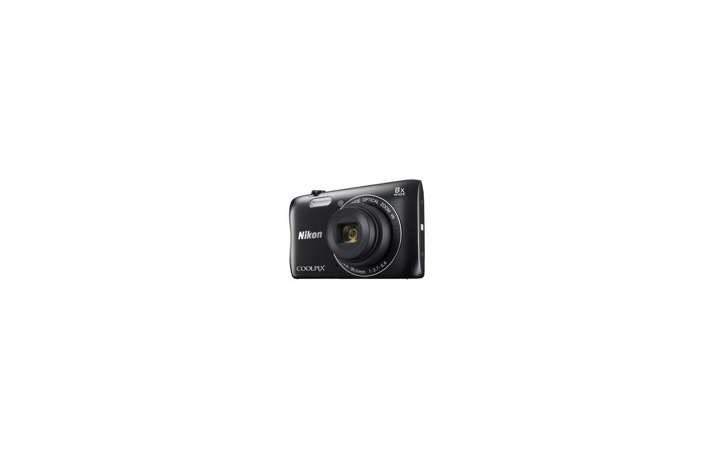 Фотоаппарат компактный Nikon Coolpix S3700 black