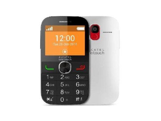Мобильный телефон Alcatel 2004C pure white