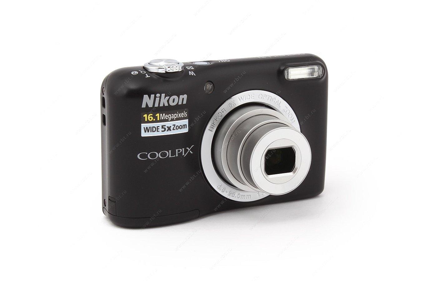 Фотоаппарат компактный Nikon Coolpix L31 black
