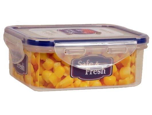Пластиковая посуда для СВЧ Тек А Тек SF2-1 Контейнер для СВЧ прямоуг. 0.35л