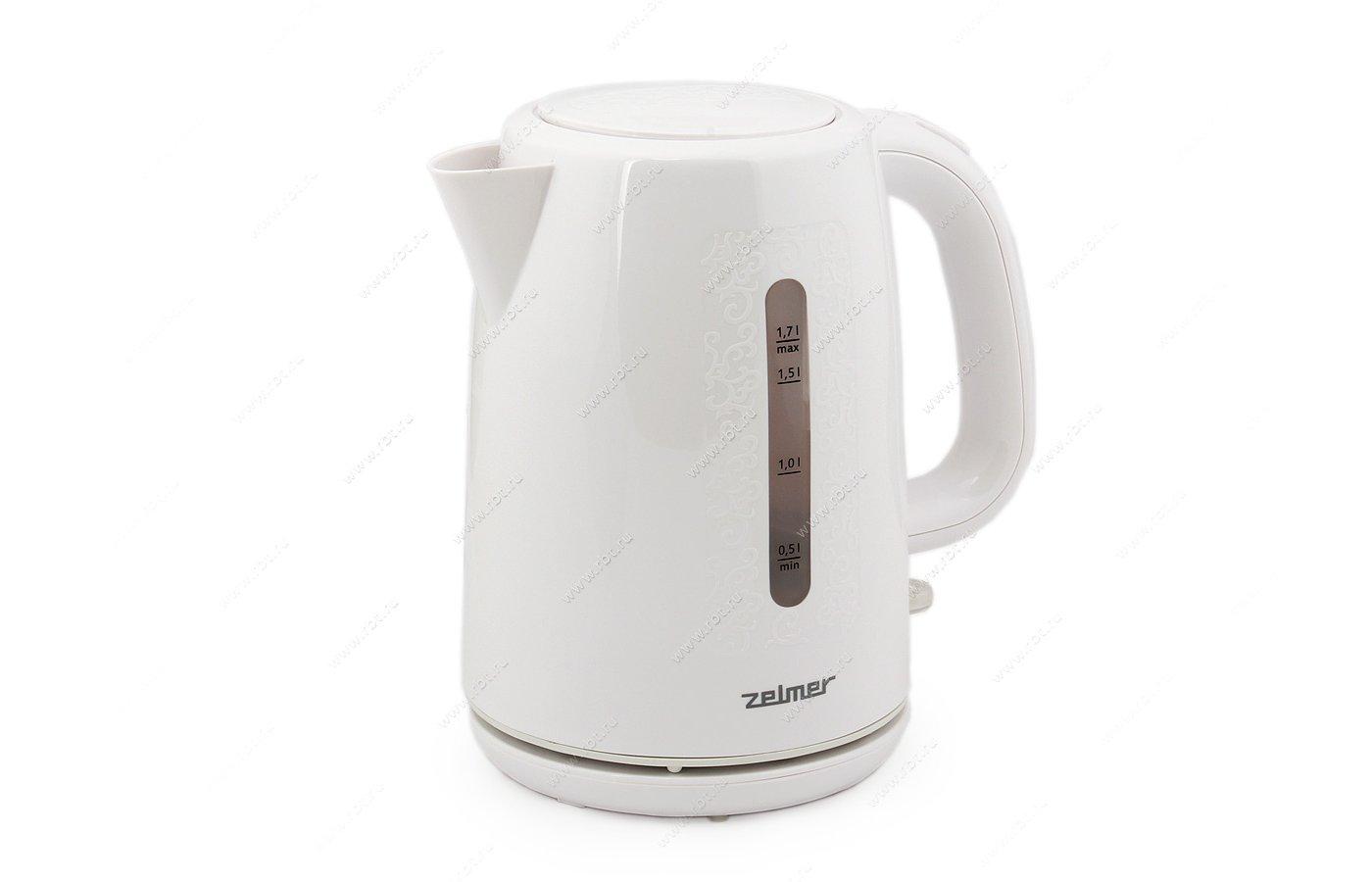 Чайник электрический ZELMER CK0279 (ZCK0279W)