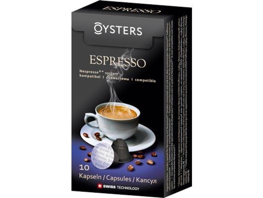 капсулы для кофеварок Oysters Espresso 10 капсул