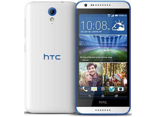 Смартфон HTC Desire 620G DS glossy white blue