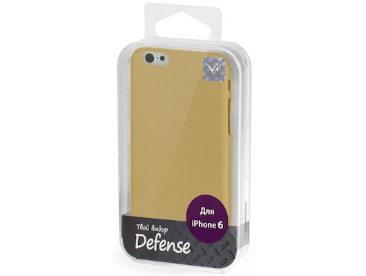 Чехол Vertex для iPhone 6/6S Клип-кейс бронзовый