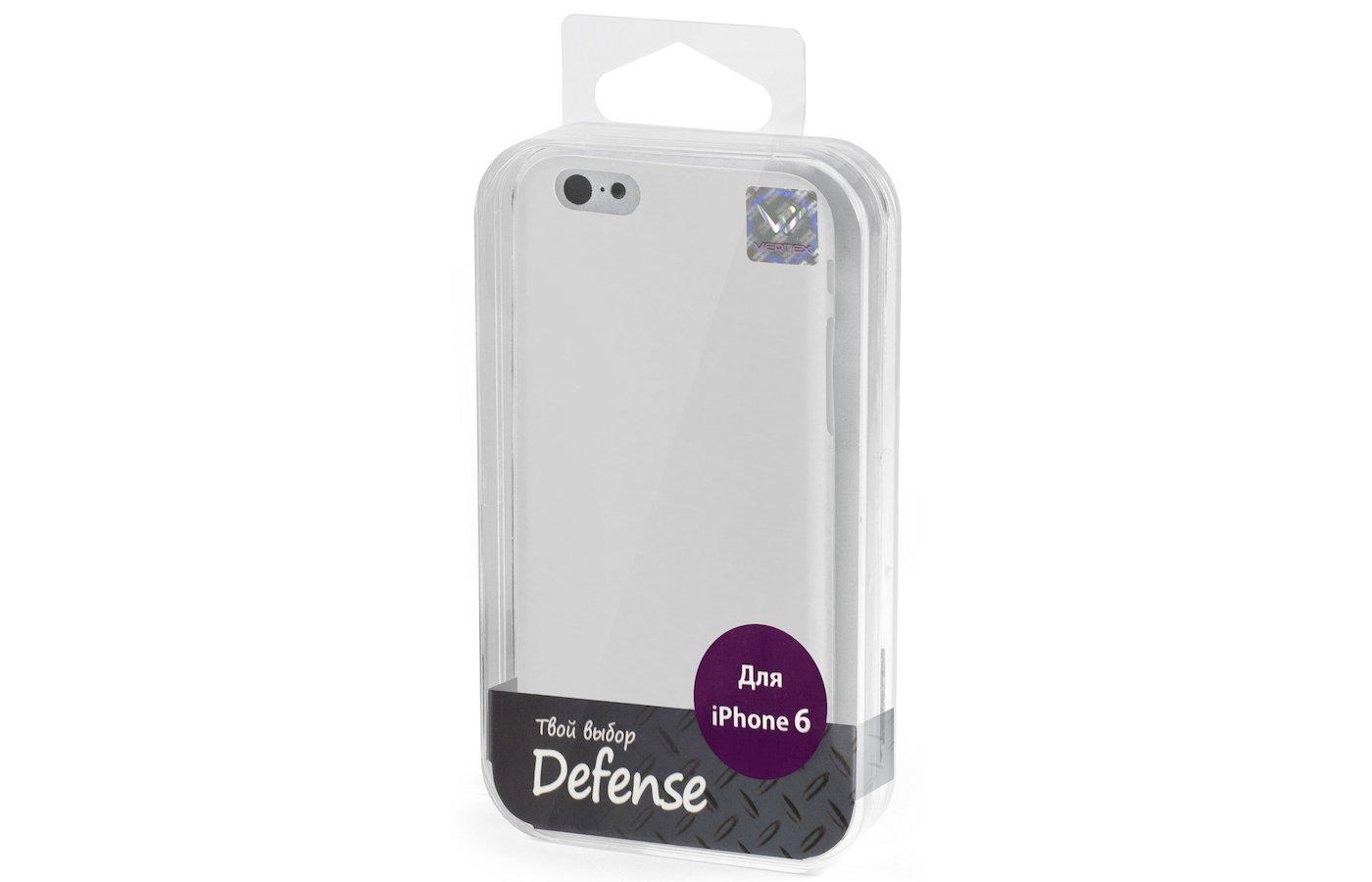 Чехол Vertex для iPhone 6/6S Клип-кейс белый дым
