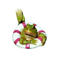 Фото Инвентарь GREEN APPLE GRWD1-17 Фигура плавающая Лягушка