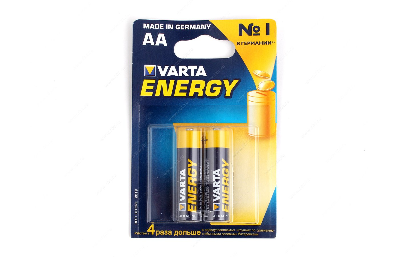 Батарейка VARTA Energy AA 2шт. LR6/2BL