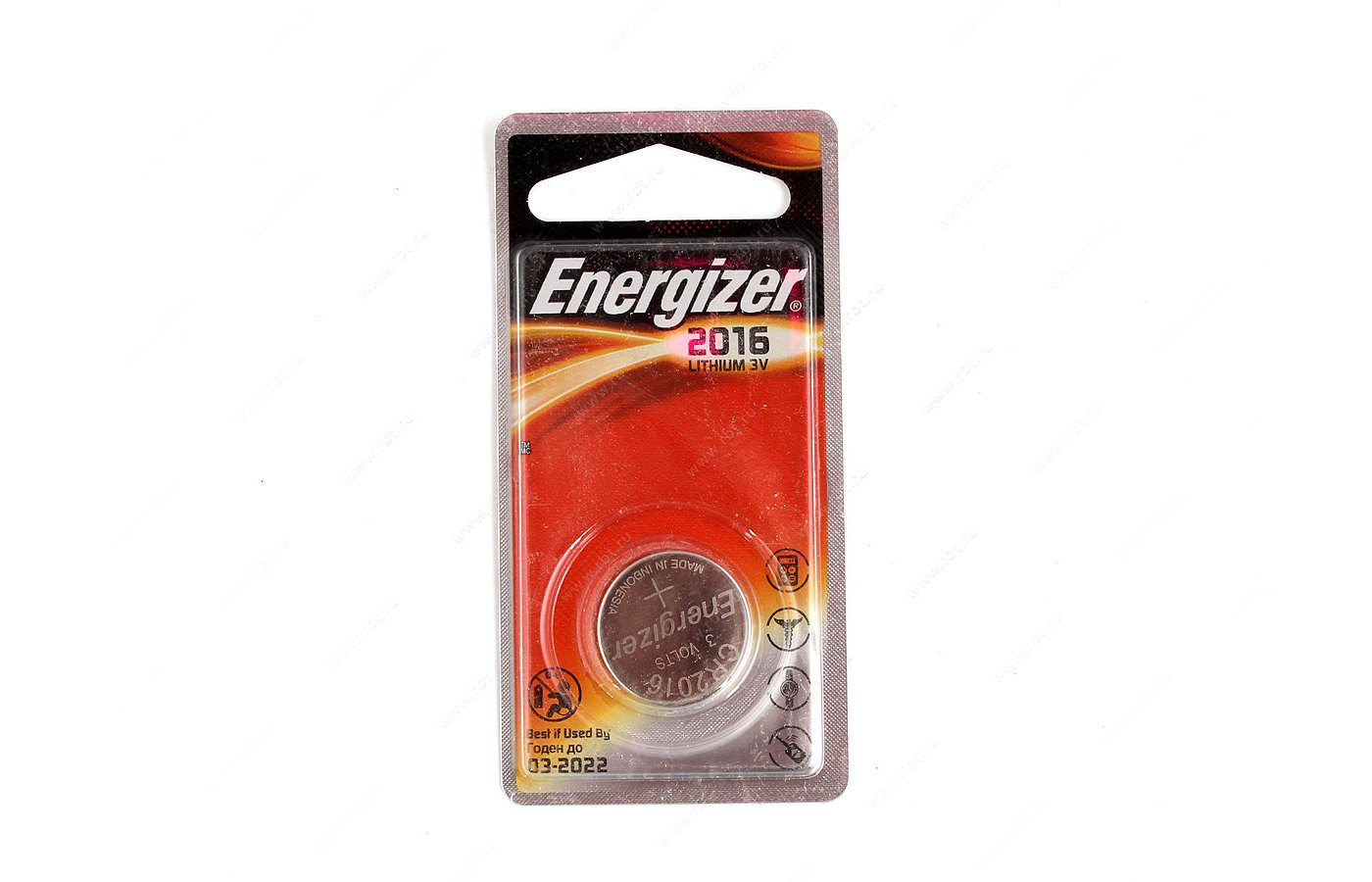 Батарейка Energizer CR2016 1шт.