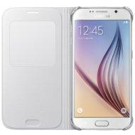 Фото Чехол Samsung S-View для Galaxy S6 (SM-G920) (EF-CG920PWEGRU) белый