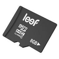 Фото Карта памяти LEEF microSDHC 8Gb Class 10 + адаптер (LMSA0KK008R5)