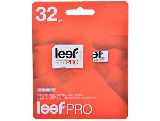 Карта памяти LEEF microSDHC 32Gb PRO Class 10 + адаптер (LFMSDPRO-03210R)