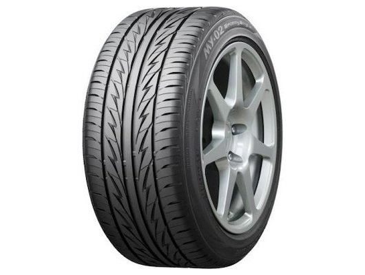 Шина Bridgestone MY-02 Sporty Style 195/55 R15 TL 85V