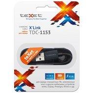 Фото Кабель TeXet TDС-1153 USB для зарядки планшетов и эл.книг (1м.)