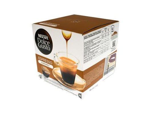 капсулы для кофеварок Nescafe Dolce Gusto ESPRESSO CARAMEL