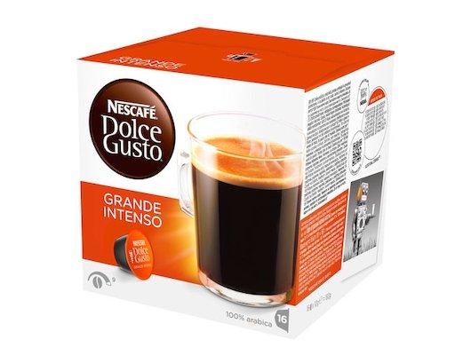 капсулы для кофеварок Nescafe Dolce Gusto GRANDE INTENSO
