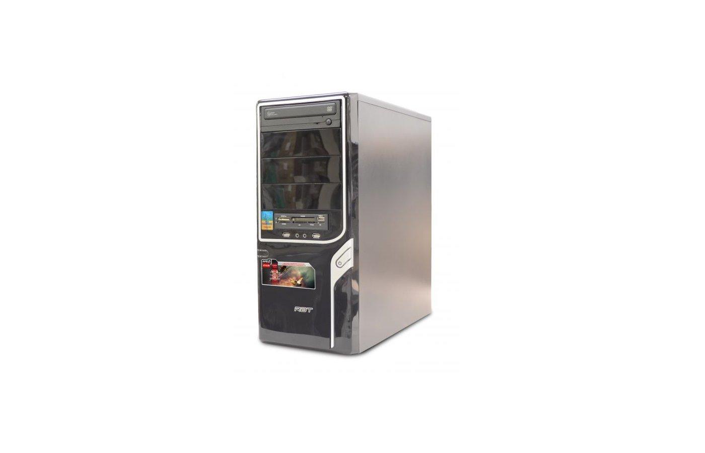 Системный блок РБТ R238 AMD A4 5300 X2 3.4Gh/4Gb/500Gb/R7 240-1GB/DVD-RW/CR/Linux