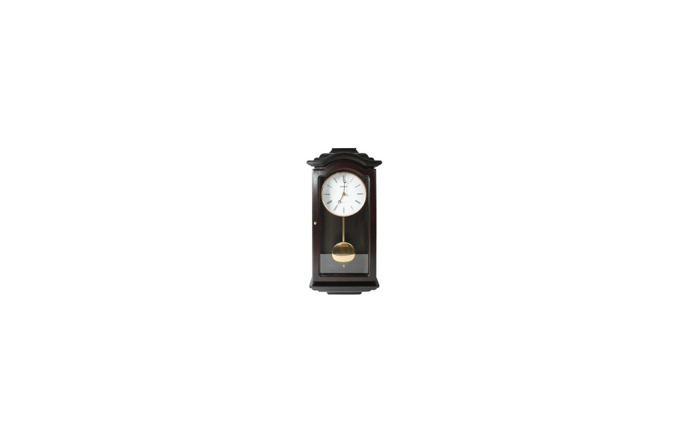 Часы настенные Scarlett 95G плавный ход / маятниковые / дерево