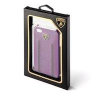 Фото Чехол Lamborghini Gallardo-D2 для iPhone 4/4S (фиолетовый/черный)