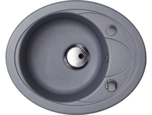 Кухонная мойка Kuppersberg CAPRI 1B1D S STEEL METAL