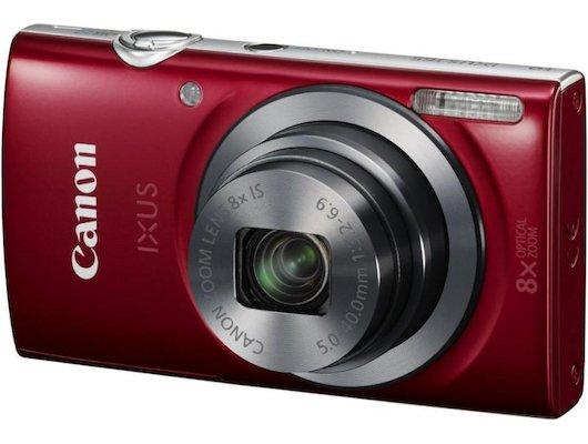 Фотоаппарат компактный CANON IXUS 165 red