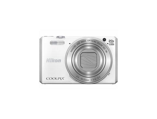 Фотоаппарат компактный NIKON Coolpix S7000 white