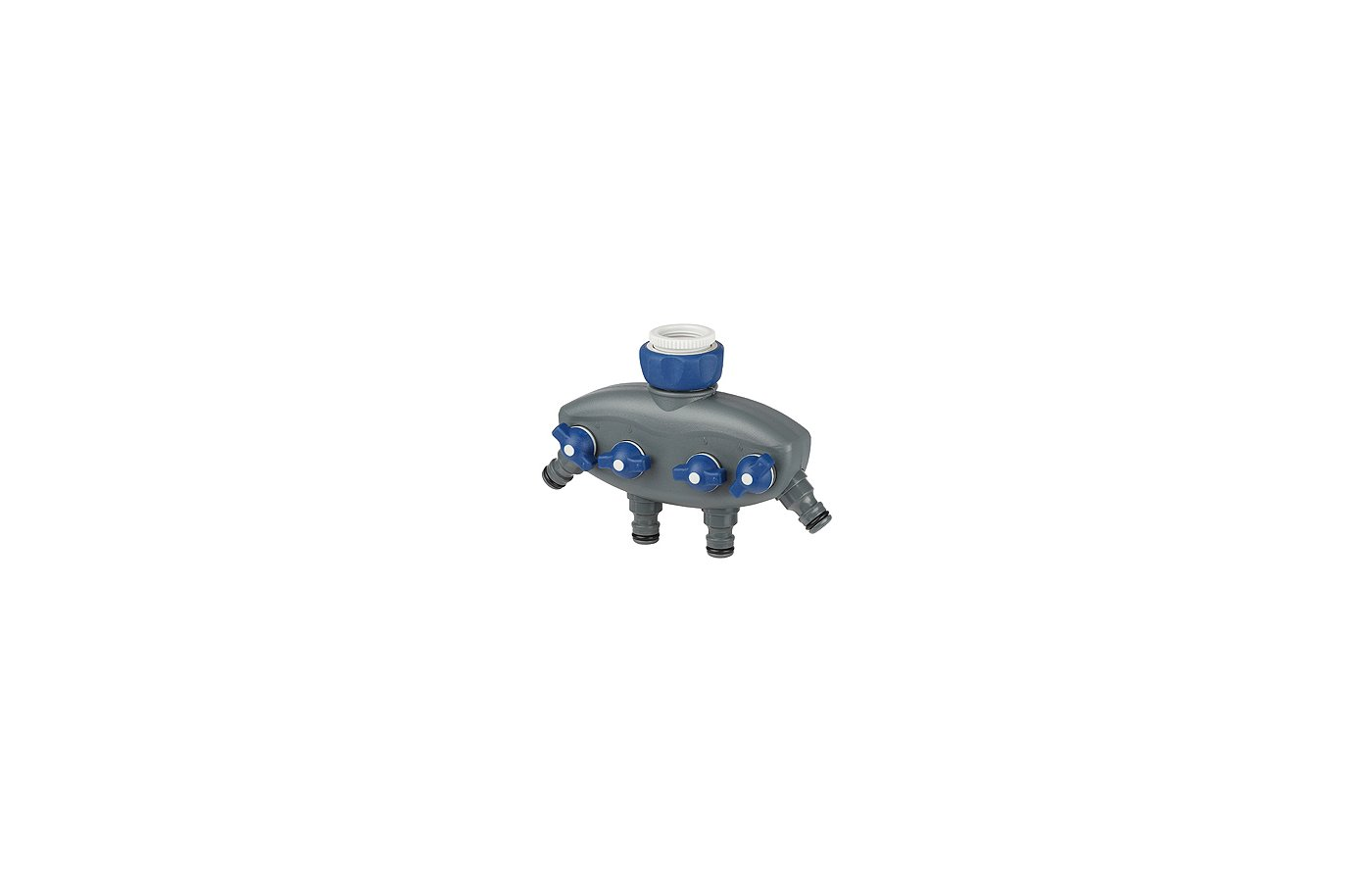 Дождеватель GREEN APPLE GWCG12-065 Распределитель четырехканальный, пластик