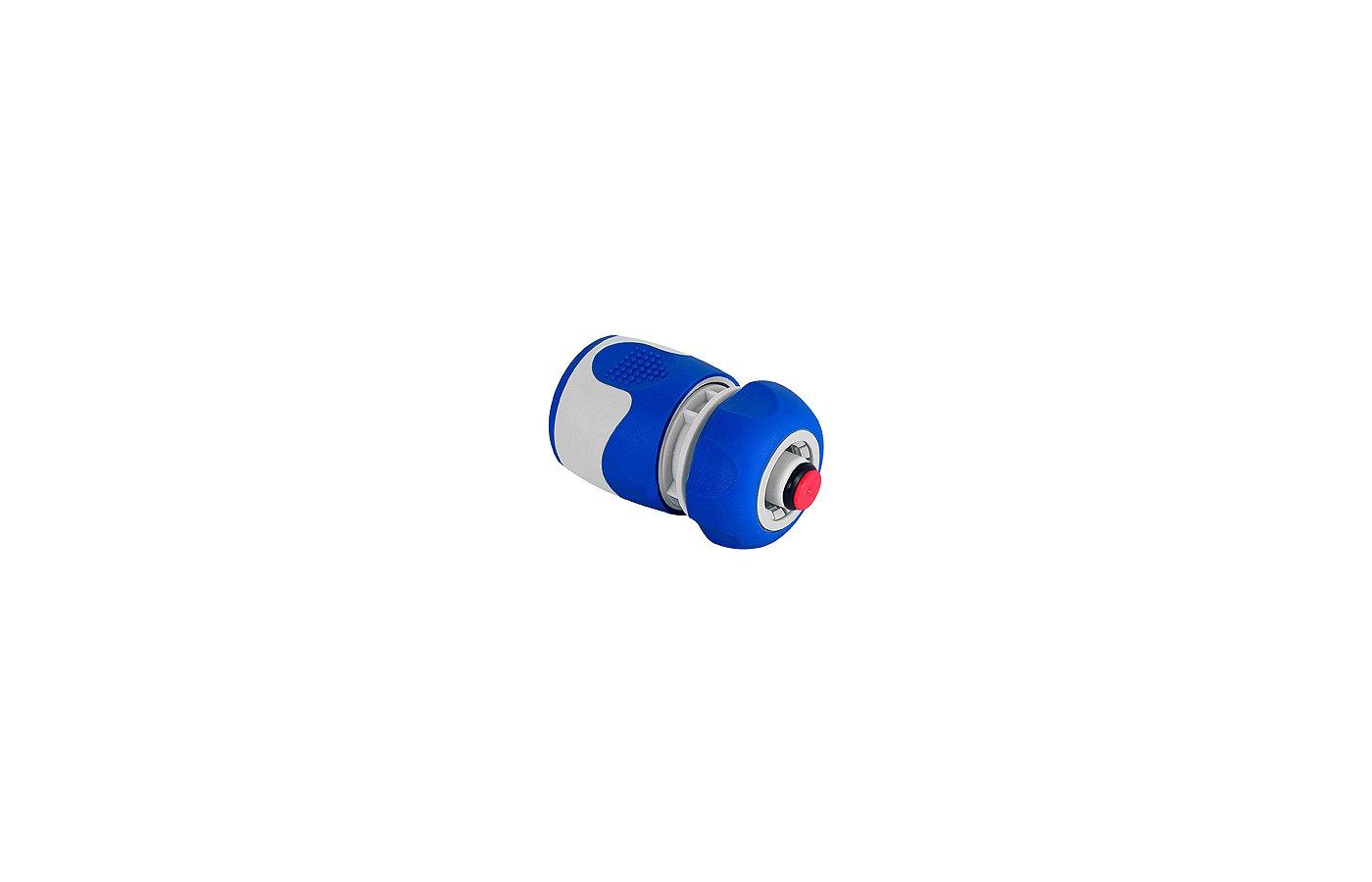 Соединитель GREEN APPLE GWHC20-058 Коннектор с аквастопом для шланга 12 мм (1/2), пластик, TPR