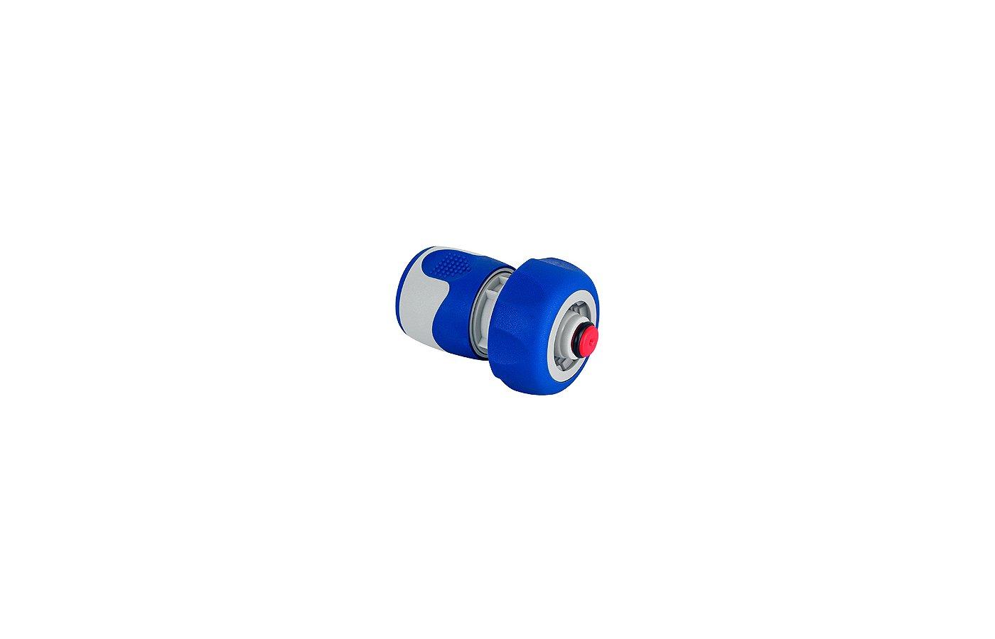 Соединитель GREEN APPLE GWHC20-060 Коннектор с аквастопом для шланга 19 мм (3/4), пластик, TPR