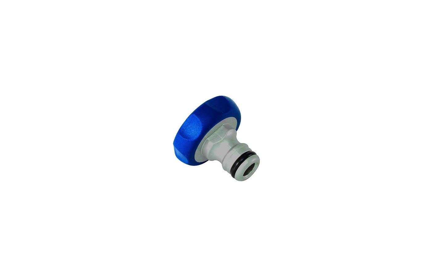 Соединитель GREEN APPLE GWTA20-053 Штуцер резьбовой 19мм (3/4) внутренняя резьба, алюминий
