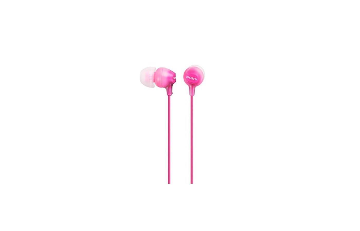 Наушники вкладыши SONY MDR-EX15LP розовый