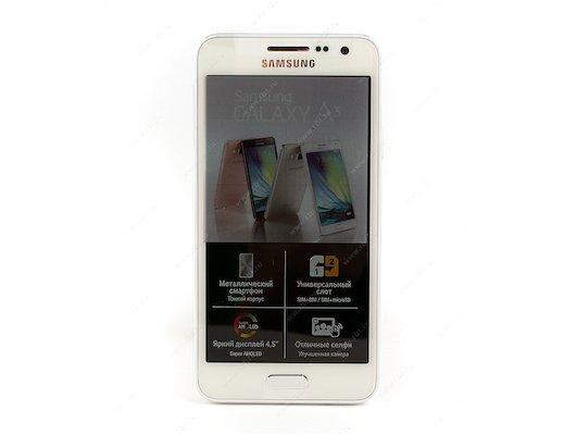Смартфон Samsung SM-A300F/DS Galaxy A3 white