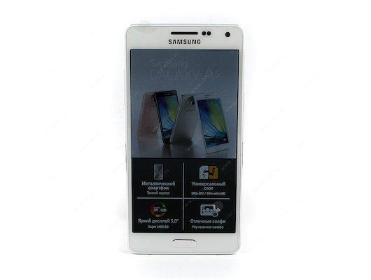 Смартфон Samsung SM-A500F/DS Galaxy A5 white
