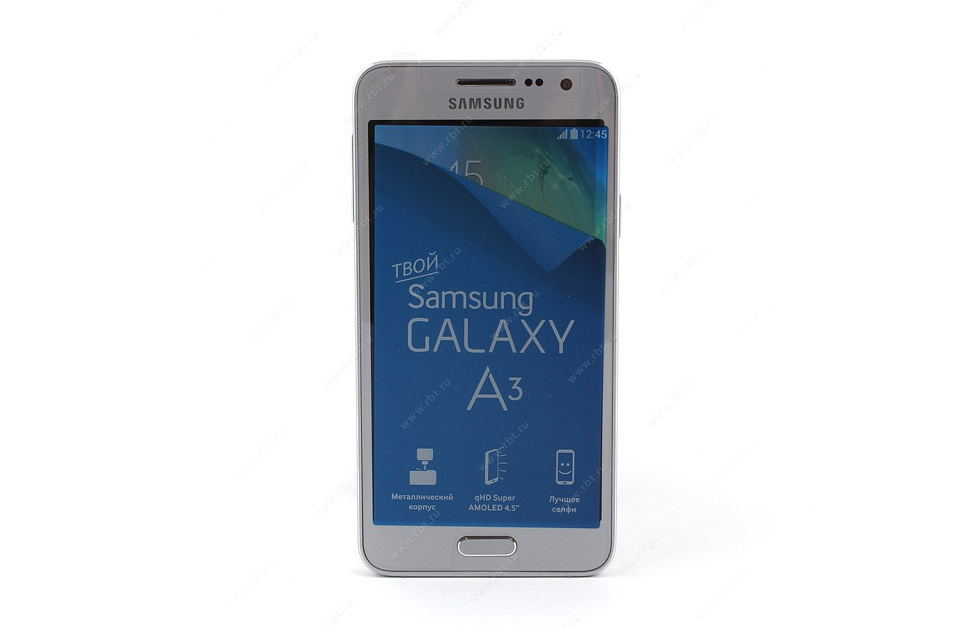 Смартфон Samsung SM-A300F/DS Galaxy A3 silver