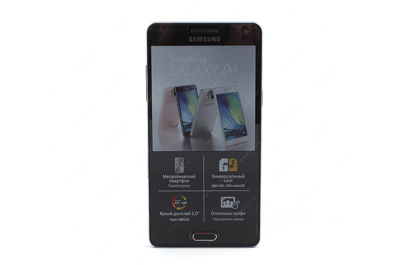 Смартфон Samsung SM-A500F/DS Galaxy A5 black