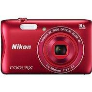 Фото Фотоаппарат компактный Nikon Coolpix S3700 red