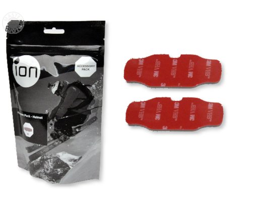 iON Двусторонние липучки для крепления на шлем (3 шт) 5008