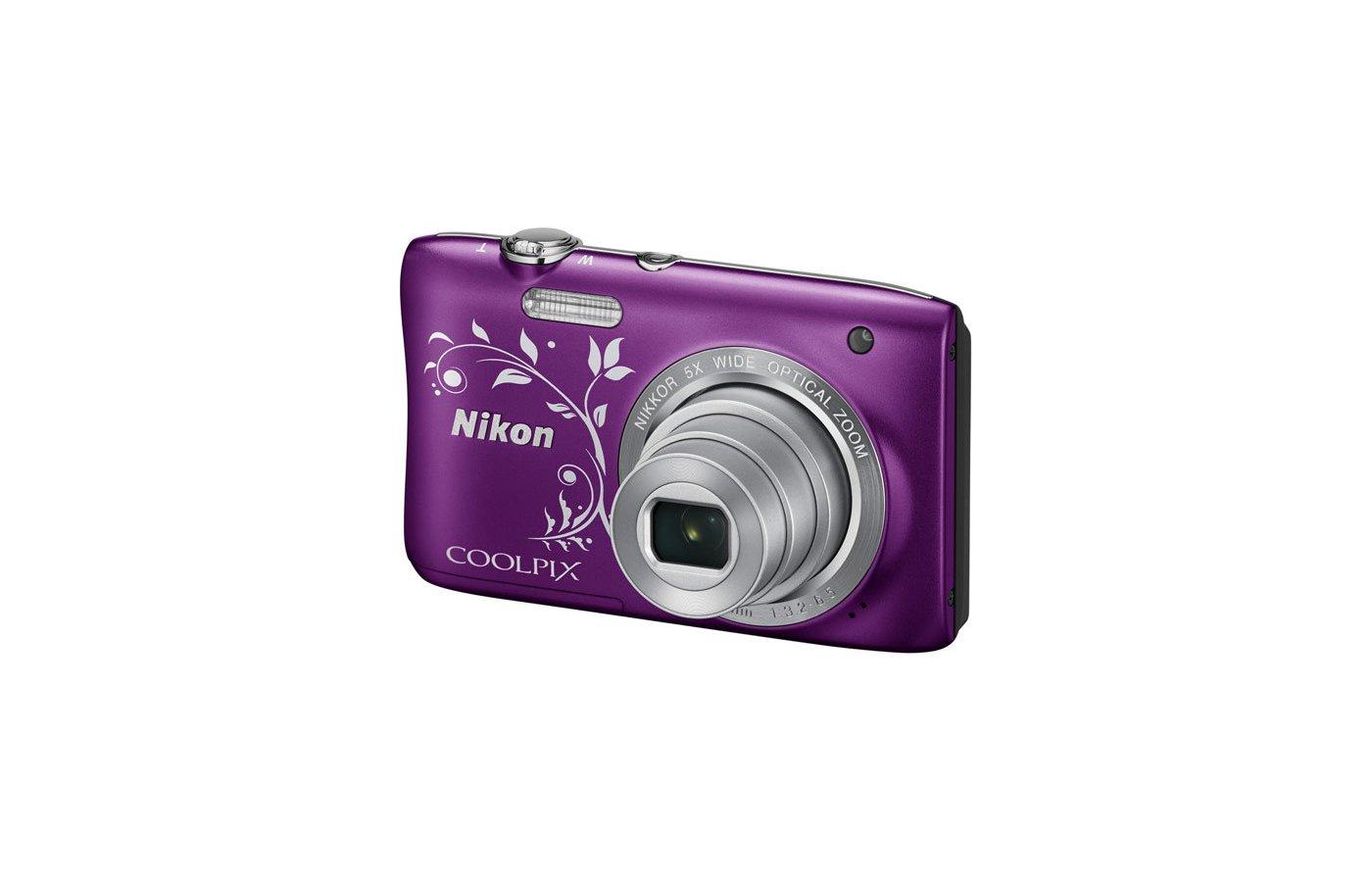Фотоаппарат компактный Nikon Coolpix S3700 pink