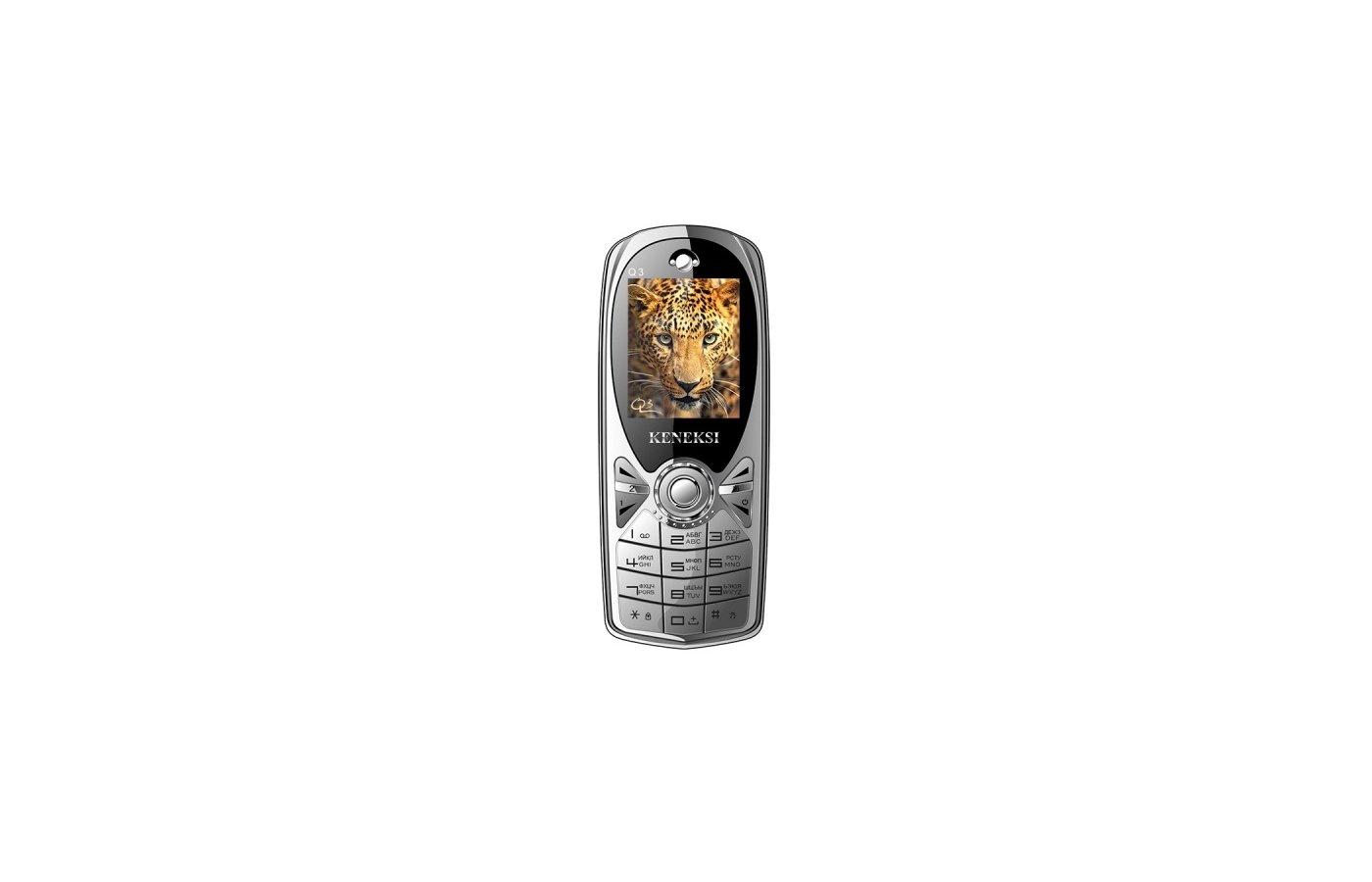 Мобильный телефон KENEKSI Q3 Silver