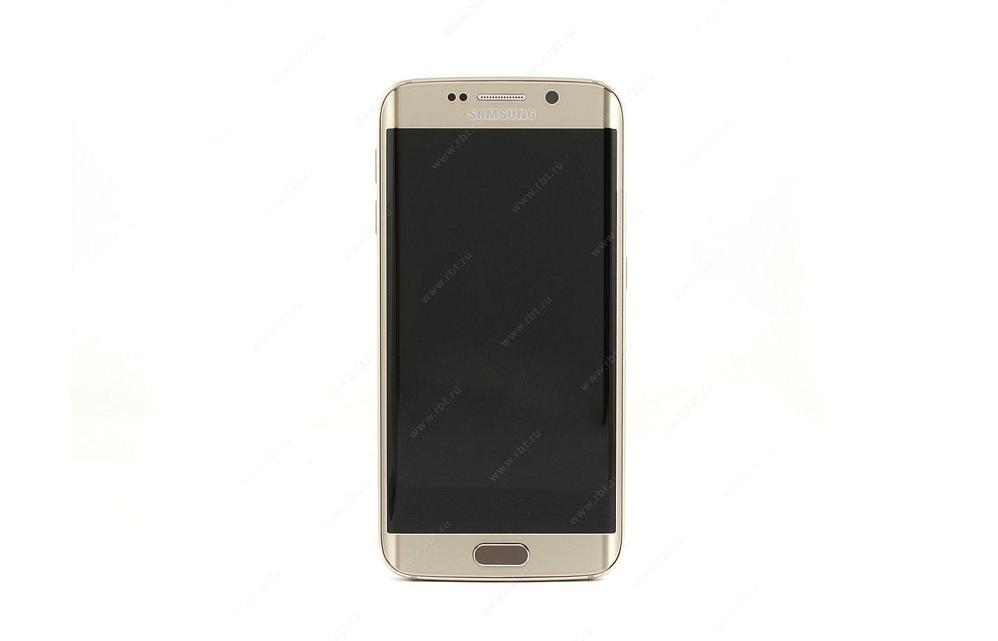 Смартфон Samsung SM-G925F Galaxy S6 Edge 32GB platinum gold