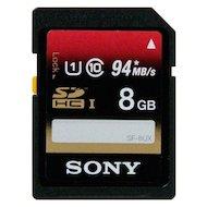 Карта памяти Sony SDHC 8Gb Class 10/UHS-1. 94MB/s (SF8UXT)